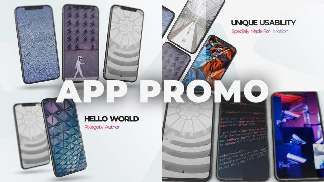 App Promo | App Presentation: After Effects Templates