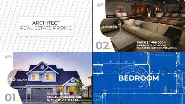 Architect Real Estate Promo: After Effects Templates