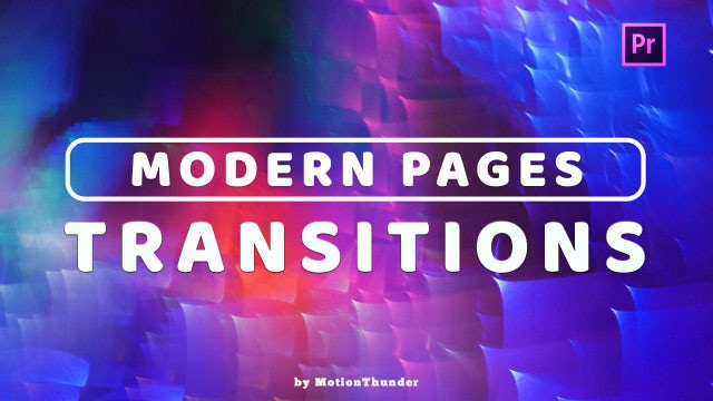 Modern Pages Transitions: Premiere Pro Presets