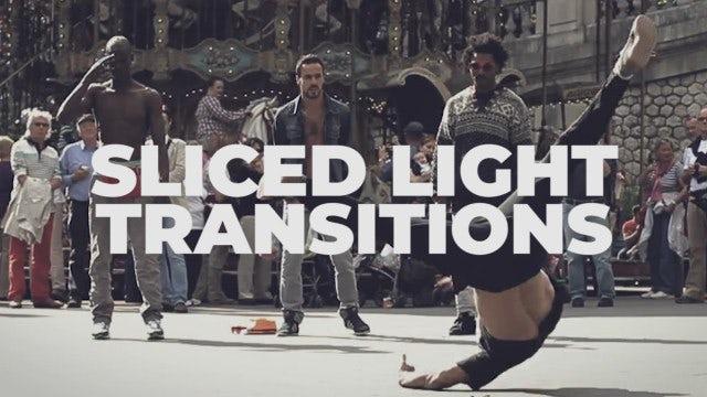 Sliced Light Transitions: Premiere Pro Presets