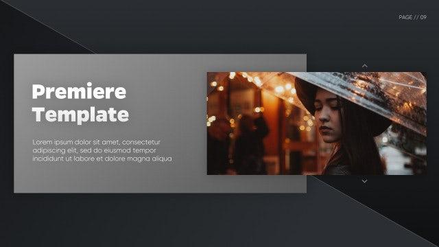 Elegant Corporate - Clean Presentation: Premiere Pro Templates