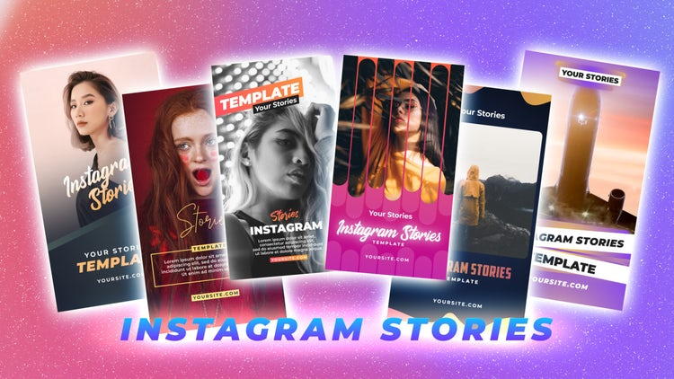 Instagram Stories Pack 22: After Effects Templates