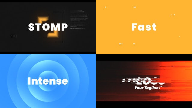 Stomp Hip-Hop Claps: After Effects Templates
