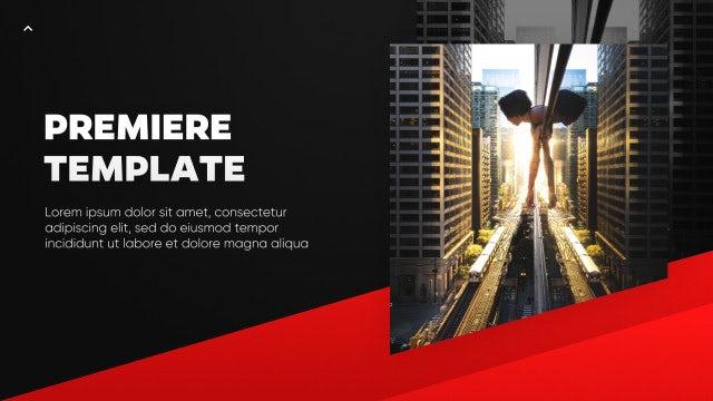 Edges - Corporate Presentation: Premiere Pro Templates