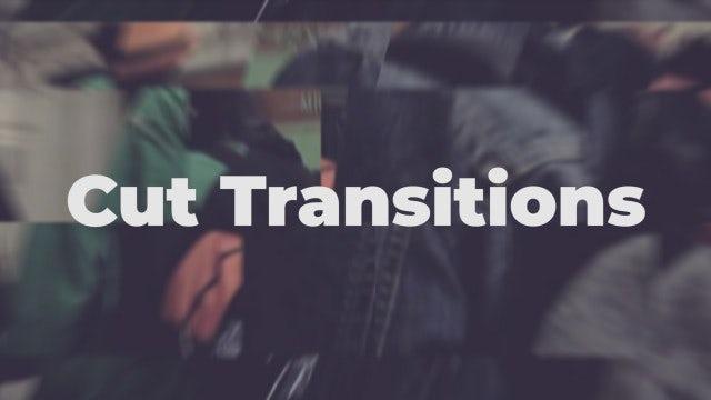 Cut Transitions: Premiere Pro Presets