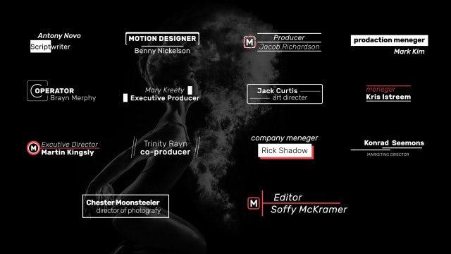 Art Typography: Motion Graphics Templates