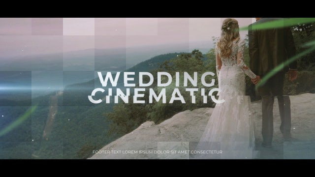 Wedding Cinematic Promo - Premiere Pro Templates | Motion Array