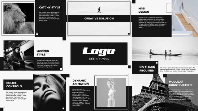 Mini Presentation: After Effects Templates