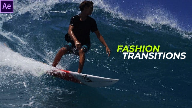 Fashion Transitions: After Effects Templates