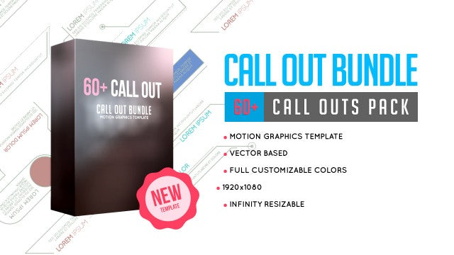 Call Out Bundle: Motion Graphics Templates