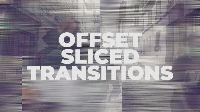 Offset Sliced Transitions: Premiere Pro Presets