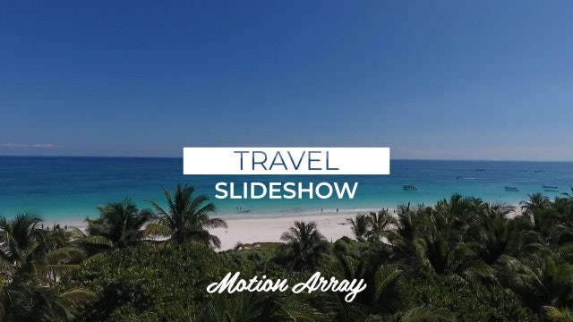 Travel Slideshow: Premiere Pro Templates