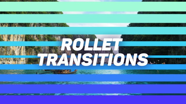 Rollet Transitions: Motion Graphics Templates