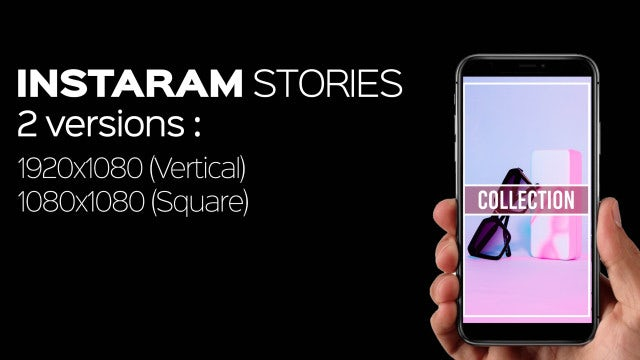 Instagram Stories V3: After Effects Templates