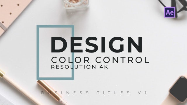 Business Titles V1: After Effects Templates