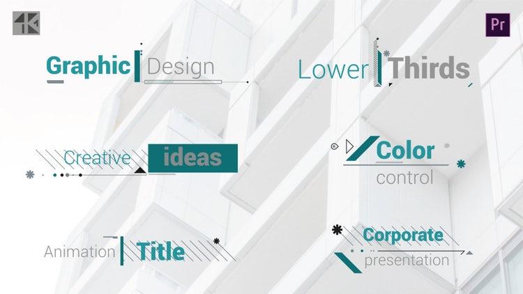 Corporate Titles V.4: Premiere Pro Templates