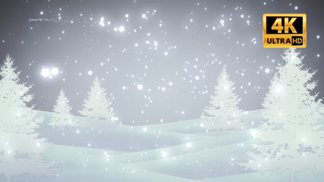 Winter Loop: Stock Motion Graphics