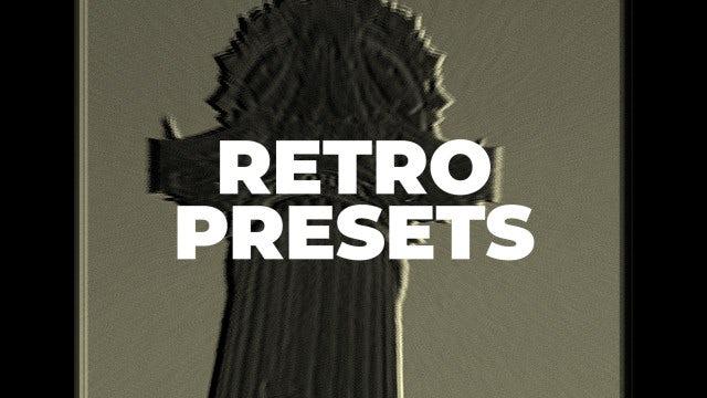 Retro Presets: Premiere Pro Presets