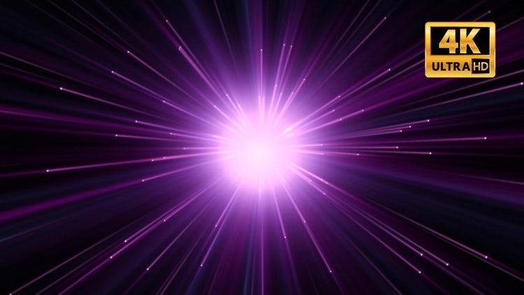 Purple Rays: Stock Motion Graphics