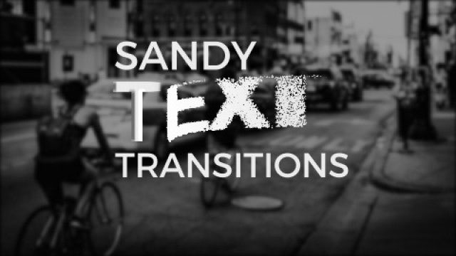 Sandy Text Transitions: After Effects Presets