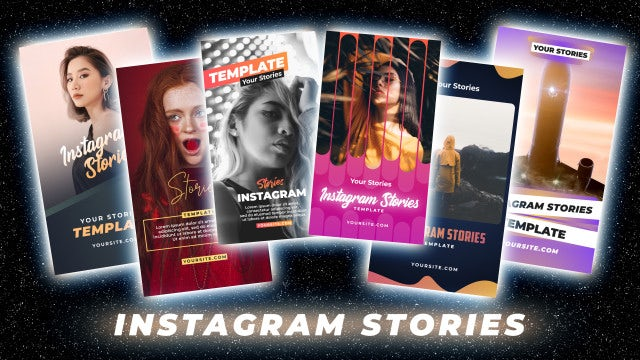 Instagram Stories Pack 22: Motion Graphics Templates