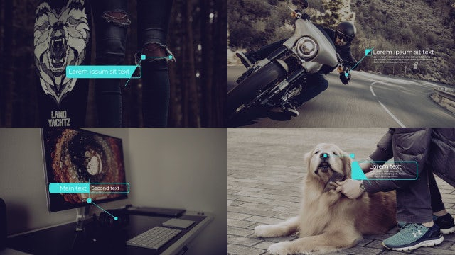 Creative Callout Titles: Motion Graphics Templates
