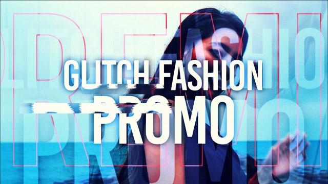 Glitch Fashion Promo: Premiere Pro Templates