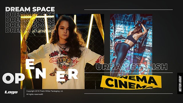 Trendy Graphics Opener: After Effects Templates