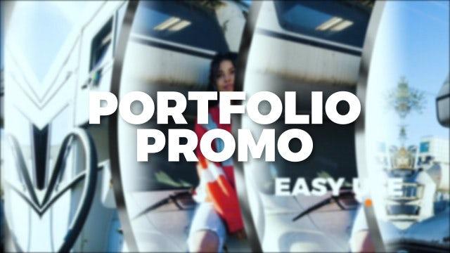 Portfolio Promo Slides: Premiere Pro Templates