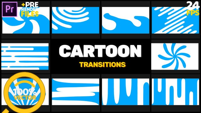 Hand-Drawn Transitions: Motion Graphics Templates
