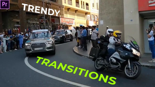 Trendy Transitions Presets: Premiere Pro Presets
