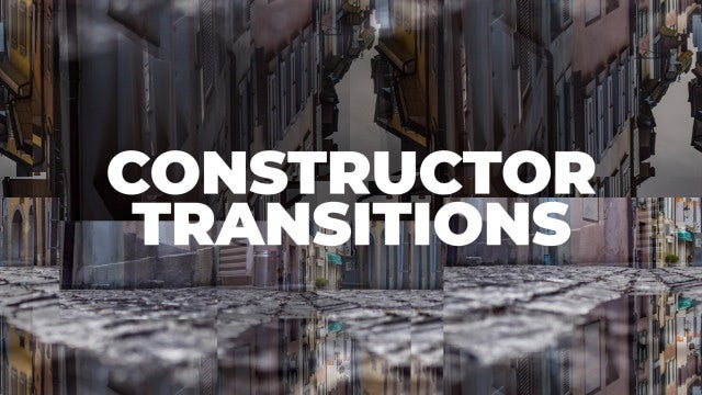 Constructor Transitions: Premiere Pro Presets