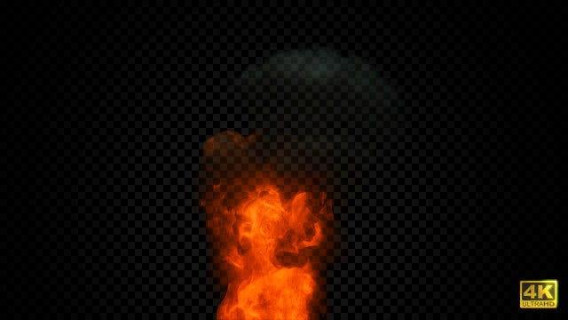 Fire Flares Up - Stock Motion Graphics | Motion Array