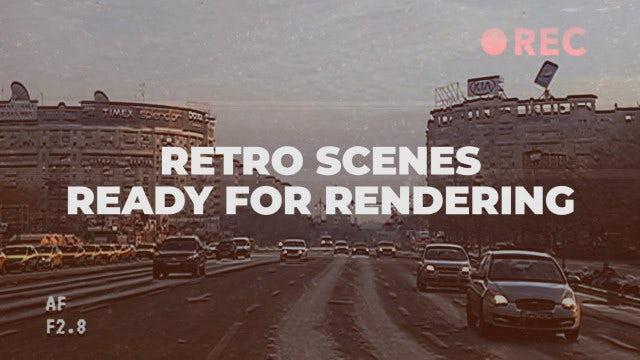Retro Scenes: Premiere Pro Templates