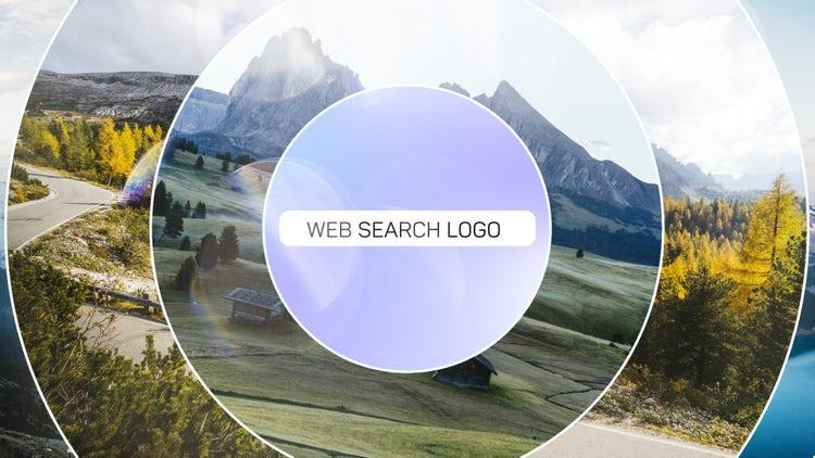 Web Search Logo: Premiere Pro Templates