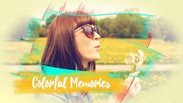 Colorful Memories: After Effects Templates