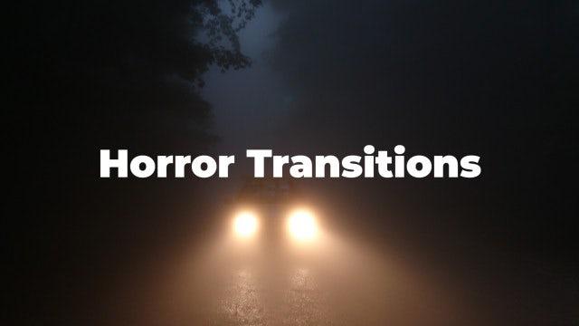 Horror Transitions: Premiere Pro Presets