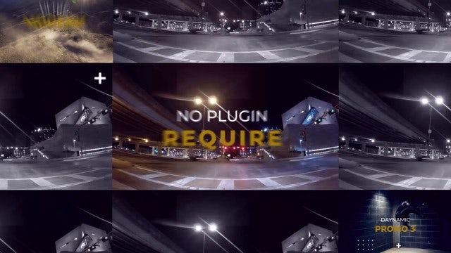 Dynamic Promo 3: Premiere Pro Templates