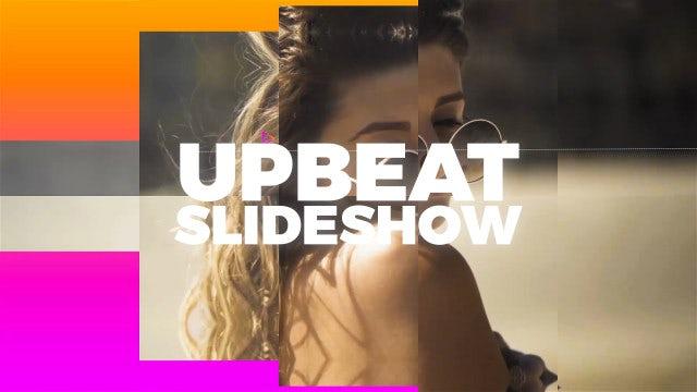 Colorful Upbeat Slideshow: Premiere Pro Templates
