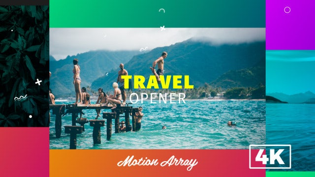 Travel Opener: After Effects Templates