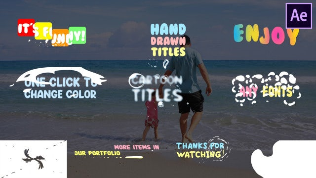 Fun Titles: After Effects Templates