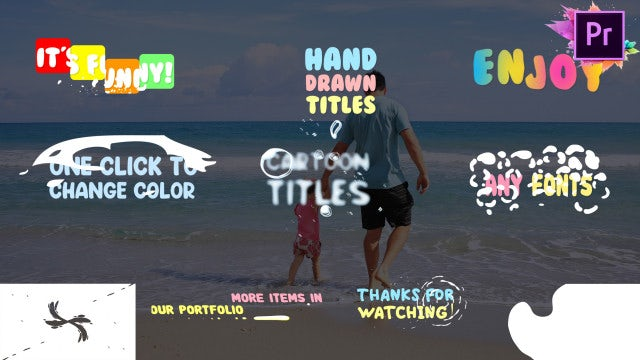 Fun Titles: Motion Graphics Templates