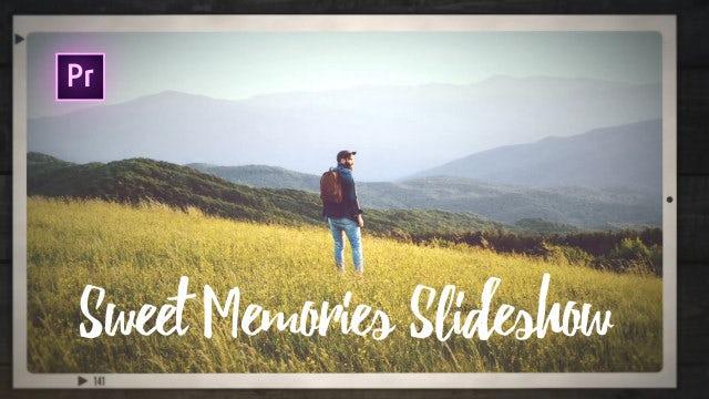 Sweet Memories Slideshow: Premiere Pro Templates