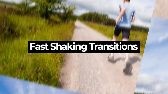 Fast Shaking Transitions: Premiere Pro Presets