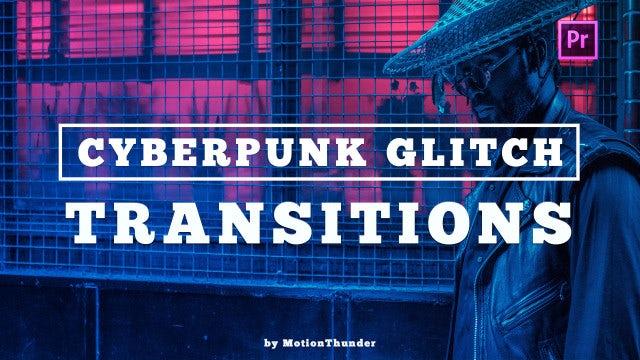 Cyberpunk Glitch Transitions: Premiere Pro Presets