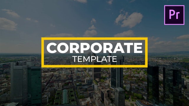 Big Corporate Titles: Motion Graphics Templates
