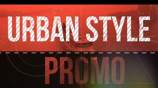 Urban Style Promo: Premiere Pro Templates