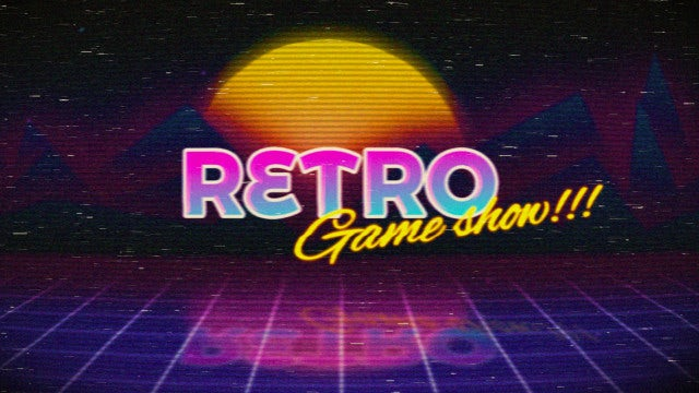 Retro Logo Reveal: After Effects Templates