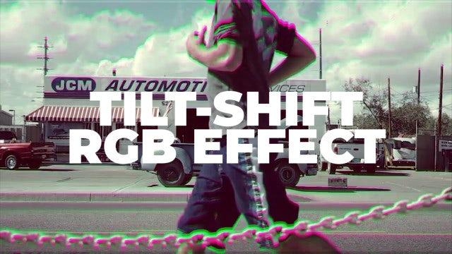 Tilt-Shift RGB Effect: Premiere Pro Presets
