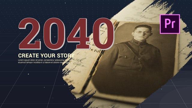 Life Story - History Slideshow: Premiere Pro Templates